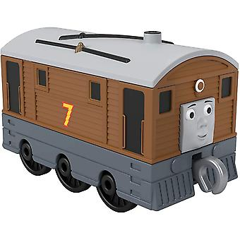 Thomas & Friends Trackmaster Small Push Along Engine Toby