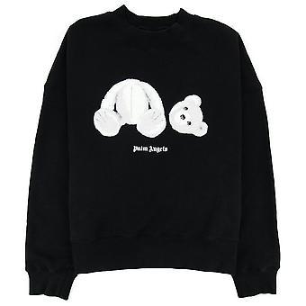 Palm Angels Ice Kill Bear Sweatshirt Noir