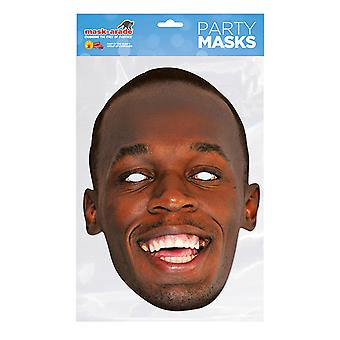 Mask-arade Usain Bolt Party Mask