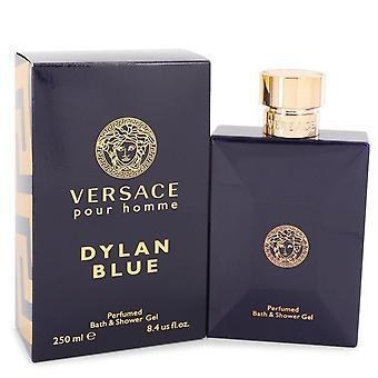 Versace Pour Homme Dylan Blue Shower Gel By Versace 8.4 oz Shower Gel