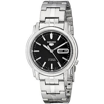 Seiko 5 Gent Watch SNKK71K1 - Stainless Steel Gents Automatic Analogue
