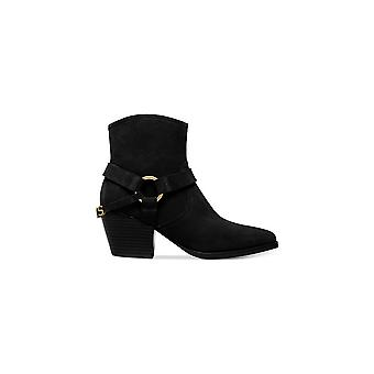 Michael Michael Kors Womens goldie Suede Square Toe Ankle Fashion Boots