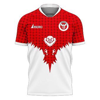 Tunisia 2020-2021 Away Concept Football Kit (Libero)