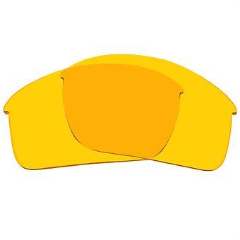 عدسات استبدال لنظارات النظارات الشمسية أوكلي Bottlecap المضادة للخدش الأصفر