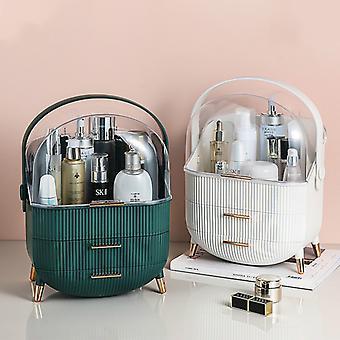 Organisateur de maquillage pour la boîte de maquillage cosmétiques pour l'organisateur de bijoux support cosmétique de stockage pour des rouges à lèvres/crème/masque