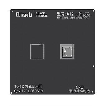 QianLi iBlack BGA Stencil Template - A12 CPU - iPhone XR - XS - XS Max