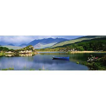 Upper Lake Killarney Co Kerry Irlanti veneitä järven PosterPrint