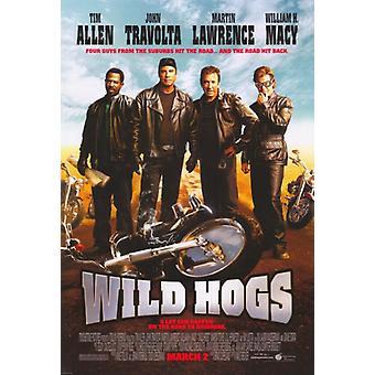Wild Hogs film plakatutskrift (27 x 40)