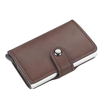 Pu Leather, Anti-magnetic Card Holders, Smart Wallets, Short Purses, Men