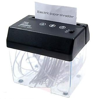 A4 & A5- Folded Paper, Strip-cut Mini Usb Shredder & Letter Opener For Home/