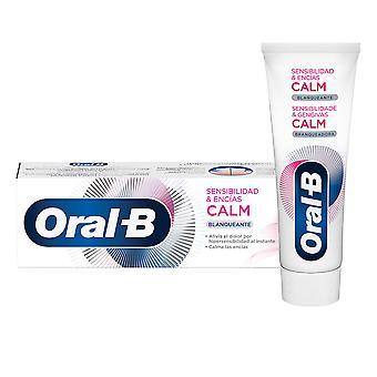 Oral-b Sensibilidad & Encías Calm Blanqueante Dentífrico 75 Ml Unisex