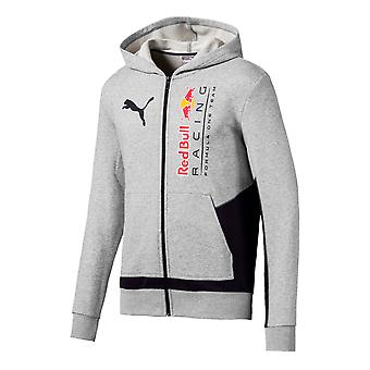 Puma RBR Red Bull Racing Logo Hooded Zip Up Mens Sweat Jumper 595174 02