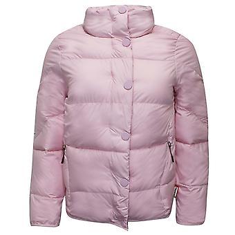 Hunter Original Womens Puffer Jacket Hooded Coat Pink WRO1245WAZ MIP
