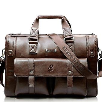 Leather Briefcase Handbag & Messenger Vintage, Shoulder Bag's