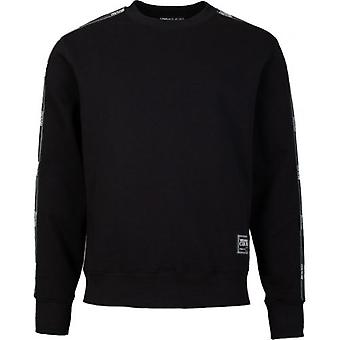 Versace Jeans Couture Tape Sleeve Crew Neck Sweat