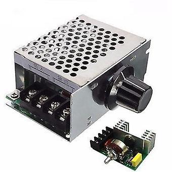 Vaihtojännitteen säädin - 220v Moottorin nopeudensäädin, Pwm Control Scr 4000w