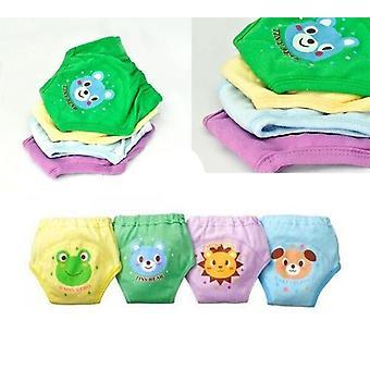Baby Nyfødte / Lag Vandtæt Potte Uddannelse Bukser, Genanvendelige Bomuld Tegneserie