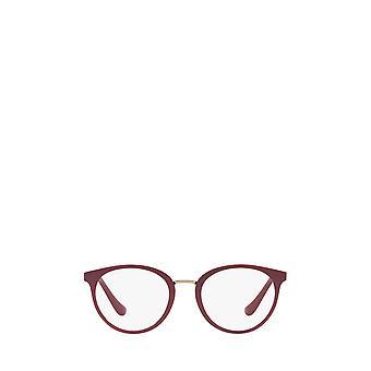 Vogue VO5167 haut rouge foncé / rouge transparent lunettes féminines