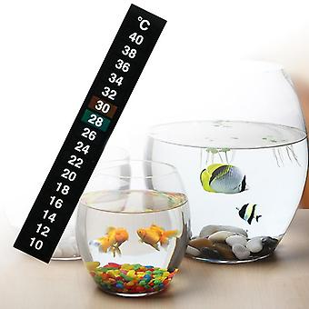 Digital Aquarium Fish Tank Thermometer, Temperature Sticker, Stick-on