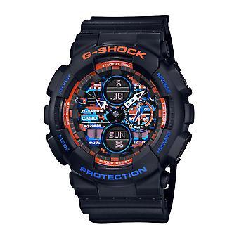 Reloj masculino Casio Ga-140ct-1aer - Pulsera negra R sine