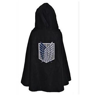 Moda Anime No Kyojin Cloak Cape Clothes Cosplay Costume