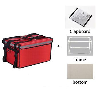 Dispositivo di raffreddamento extra large, pranzo termico ice pack, pizza e consegna di cibo fresco,