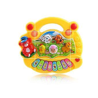 Musical Instrument Toy Baby Kids Animal Farm Piano Developmental Music