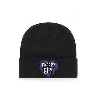 Extreme Largeness Creepy Girl Patch Beanie