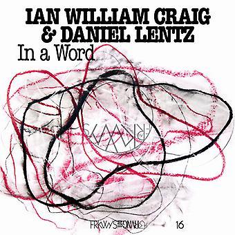 Craig,Ian William / Lentz,Daniel - In A Word' [Vinyl] USA import