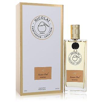 Nicolai Incense Oud Eau De Parfum Spray (Unisex) By Nicolai 3.4 oz Eau De Parfum Spray
