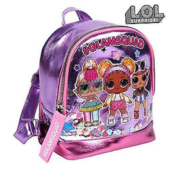 Casual backpack lol surprise! (18 x 21 x 10 cm) pink lilac