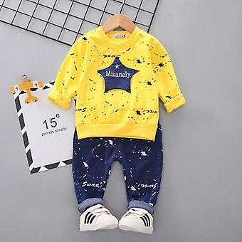 Baby Costume Star Camouflage Tracksuit Tops Pants 2pcs