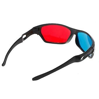 3d Glasses Universal White Frame Red Blue Anaglyph