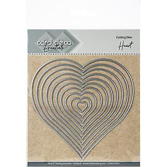 Find It Trading Card Deco Essentials Nesting Cutting Dies-Heart
