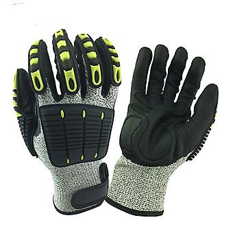 Safety Anti-vibration Anti Impact Oil-proof Work Glove