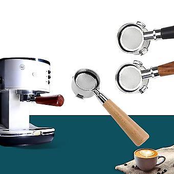 Caffè in acciaio inossidabile senza fondo per filtro Ec680/ec685 sostituzione da 51 mm