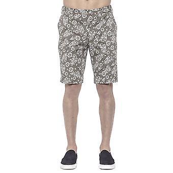 Pt Torino Men's Green Shorts
