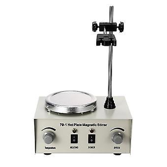 110/220v Ohrev Magnetické miešadlo Lab Mixer Machine 79-1 1000ml Horúca platňa