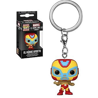 Marvel Luchadores- Iron Man USA Import