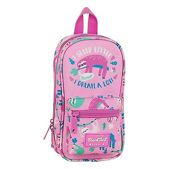 Backpack Pencil Case BlackFit8 Pink (33 Piezas)