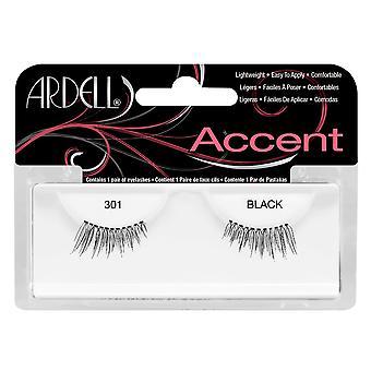 Ardell accent 301 sort let at anvende fuld falsk øjenvipper