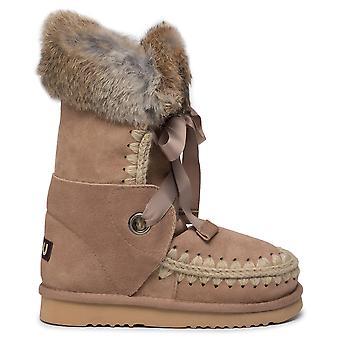 Eskimo Lace and Fur Boots