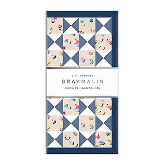 Gray Malin The Beach 2 in 1 Game Set by By photographer Gray Malin & Created by Galison