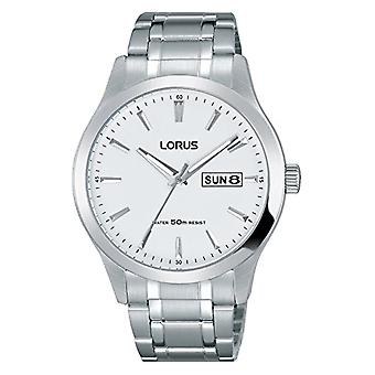 Lorus Watches Analog Watch Unisex with Stainless Steel Plated Strap RXN25DX9(2)