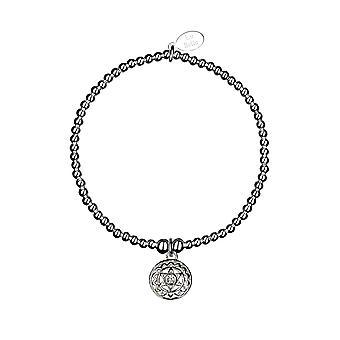 Chakra du Cœur / Bracelet Anahata Chakra - 17.5cm - Argent - Cadeaux bijoux pour femmes de Lu Bella
