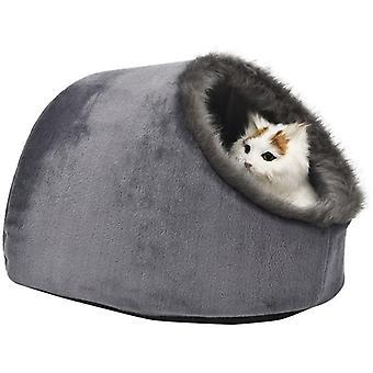 Katze kleine Hund gemütliche Bett Haustiere Iglu Bett kuschelhöhle für katzen, Kissen waschbar