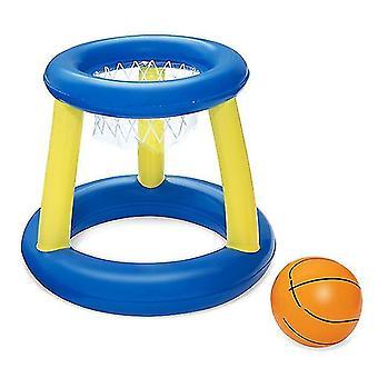 Floating Pool Basketball Game Including Basketball Box And Ball