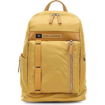 Piquadro - Väskor - Ryggsäckar - CA4545BIO-G - Män - goldenrod