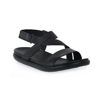 Her er sorte simpil sandal flade sandaler