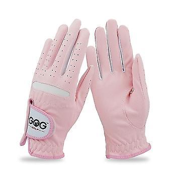 تنفس لينة النسيج المرأة اليسار واليد اليمنى Golf_gloves